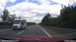 preview picture of video 'Czechy (Česko) 52 Mikulov A/CZ - Pohořelice x3'
