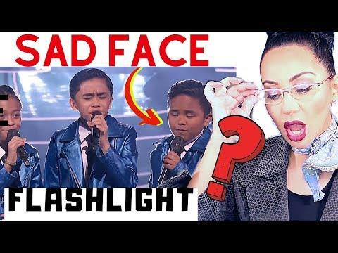 TNT Boys Flashlight Reaction   Lucia Sinatra Vocal Coach