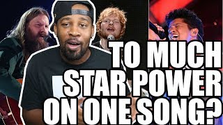 [ REACTION ] Ed Sheeran   BLOW (with Chris Stapleton & Bruno Mars) [Official Lyric Video]‼