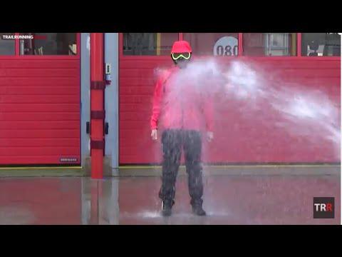 Polartec Neoshell - Prueba impermeabilidad