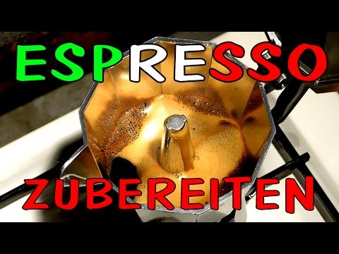 Einfach Espresso kochen mit Espressokanne