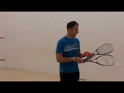 Dunlop Hotmelt Pro Squash Racket Review by PDHSports.com