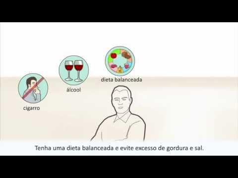 Para a variante hipertensiva de uma glomerulonefrite crônica