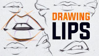 How I Draw Lips