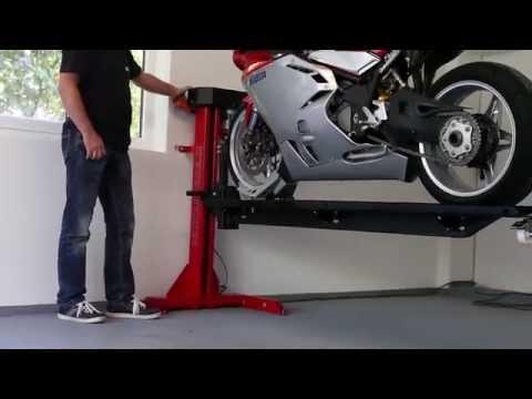 Moto Lift 400 LD Motorrad Hebebühne für die Garage www.moto-lift.de