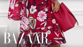 3 Chic Ways To Wear Florals This Fall | Harper's BAZAAR + Macy's The Edit