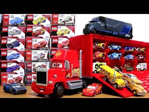 Download Disney Pixar Cars3 Toy Movie Big Mack Truck Gale Beaufort Battle Crash Cars Tomica for kids HD Mp4 3GP Video and MP3