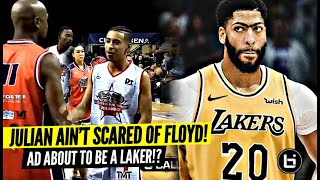 Julian Newman AIN'T SCARED Of The Champ!! Anthony Davis About To Be a LAKER!?