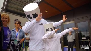 Marshmello Supports Special Olympics 2018
