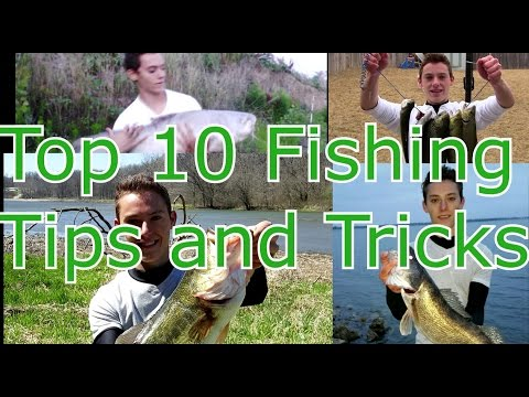Top 10 – Fishing Tips, Tricks, Hacks, and Techniques for Beginners