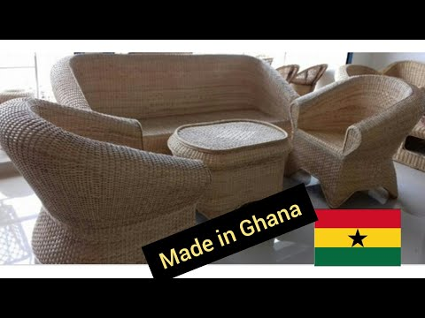 WATCH HOW THESE GHANAIAN OLD CRAFTSMEN MAKE THIS BEAUTIFUL HOME AND GARDEN DECOR.
