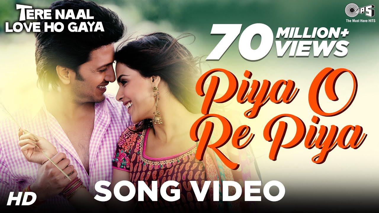 piya o re Piya lyrics - Atif Aslam & Shreya Ghoshal   lyrics for romantic song