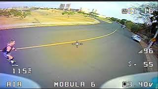 Mobula6 Voando Atras do Shopping Iguatemi em Rio Preto Parte2
