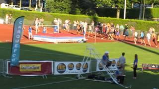 Meeting national Carquefou 2015 : 1 500 m Hommes (1ere série)