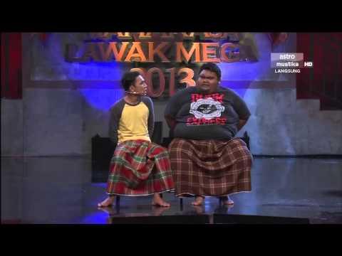 Maharaja Lawak Mega 2013 - Minggu 7 - Persembahan Bocey