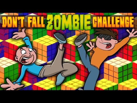 DON'T FALL ZOMBIE CHALLENGE ★ Call of Duty Zombies Mod (Zombie Games)
