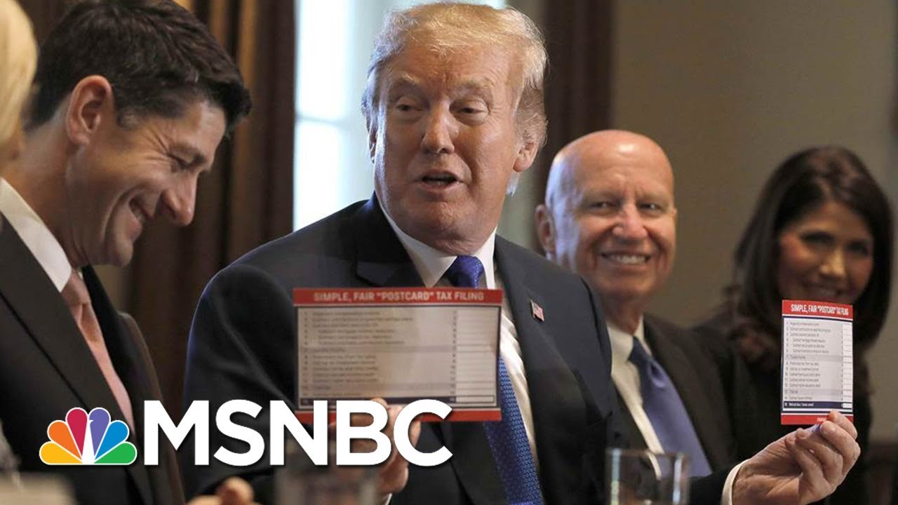How President Trump And The Rich Will Save Big Under The House Tax Plan | Velshi & Ruhle | MSNBC thumbnail