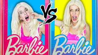 Trapped with Evil Twin in Barbie Escape Room for 24 Hours!   Rebecca Zamolo