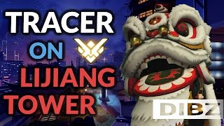 Overwatch: Lijiang Tower Madness! GM Tracer Competitive Gameplay