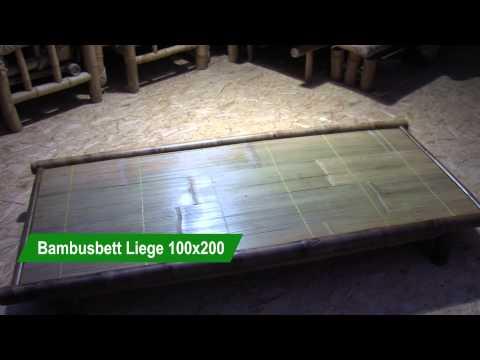 Bambus Liege 100x200
