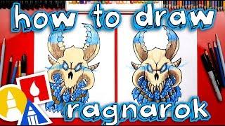 How To Draw Fortnite Ragnarok Mask