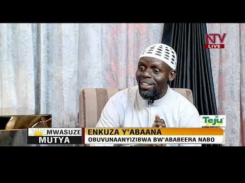 Mwasuze Mutya: Imaam Kyeyune ku nkuza y'abaana