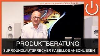 Surround-Lautsprecher kabellos anschließen - THOMAS ELECTRONIC ONLINE SHOP -