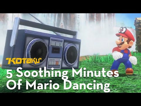 Here's 5 Soothing Minutes Of Mario Dancing