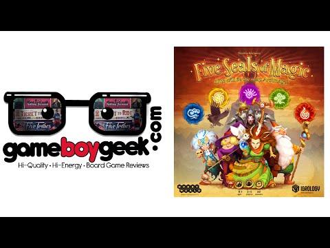The Game Boy Geek Reviews Five Seals of Magic