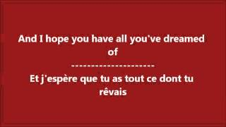 Glee - I will always love you / Paroles & Traduction