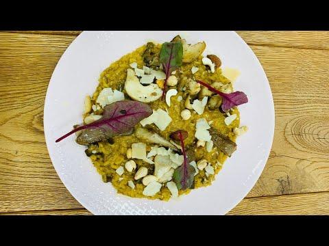 Italské risotto s houbami na indukční varné desce Miele KMDA 7774 - 1 FL