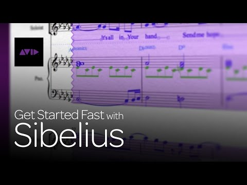 Fundamentals - Get Started Fast with Sibelius