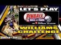 Williams Challenge Full Playthrough pinball Hall Of Fam