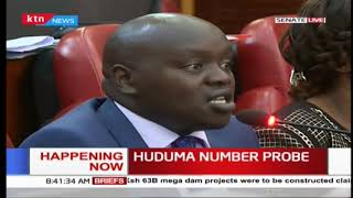 Senators raise concerns over the NIIMS 'Huduma Number' issue as CSs Matiang'i, Mucheru to expound