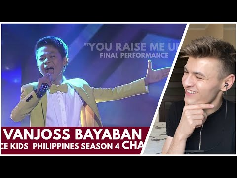 HONEST REACTION to Vanjoss Bayanan - the WINNER of The Voice - You Raise Me Up (GRAND FINALS)
