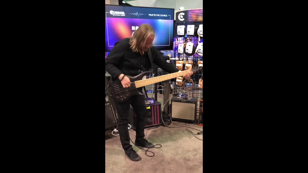 Brian Allen Solo Performance @ Cordial Cables , NAMM 2019