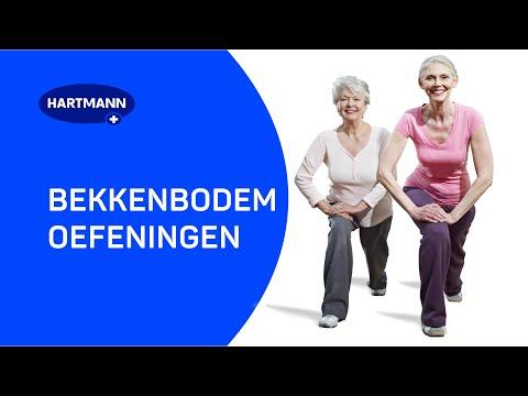 Bekkenbodemoefeningen | Voorkom/verminder ongewild urineverlies of incontinentie.