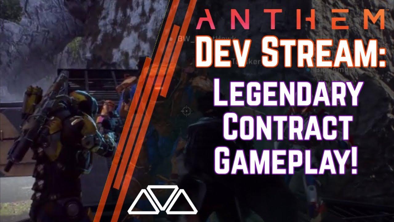 Diamo uno sguardo ai Legendary Contracts di Anthem