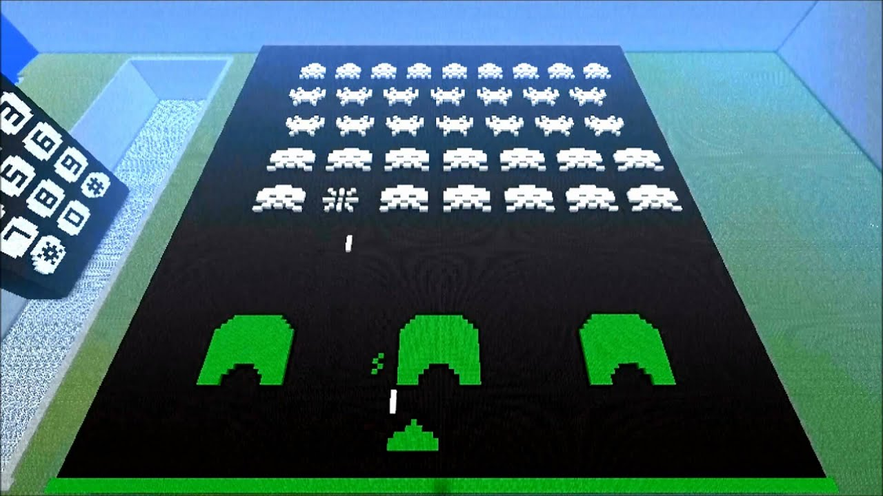 You've Got Space Invaders In My Minecraft