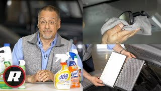 All the most effective ways to disinfect and 💯 clean your car (FIGHT CORONAVIRUS!)