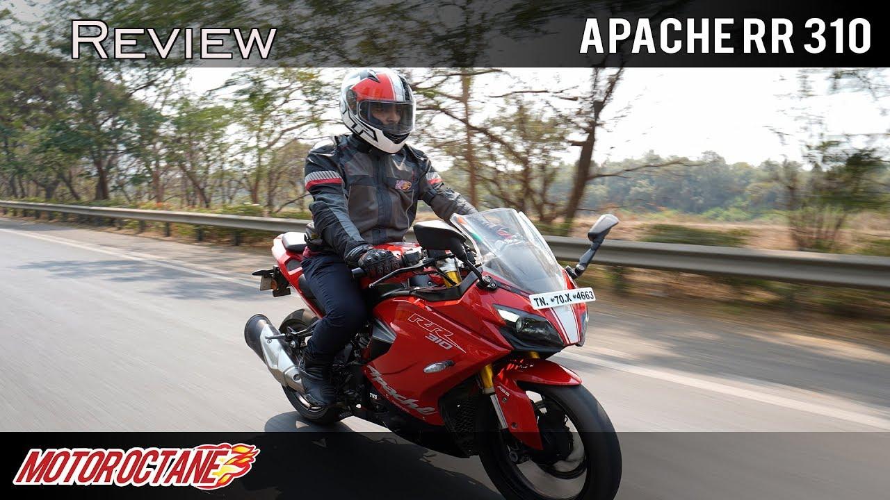 Motoroctane Youtube Video - TVS Apache RR 310 Long Term Report | Hindi | MotorOctane