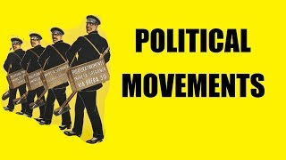 How do political movements form?