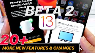 iOS 13 Beta 2 - 20+ More NEW FEATURES & CHANGES