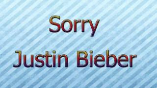 Sorry-Justin Bieber [MNC] [+Descarga-Download]