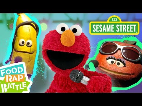 Sesame Street: Apple vs. Banana feat. Tavi Fields & Phonte Coleman  | Elmo's Food Rap Battle