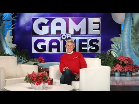 "A Sneak Peek at Ellen's Brand New NBC Game Show, ""Game of Games""!"