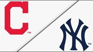 cleveland indians vs new york yankees  alds game 4 full game highlights