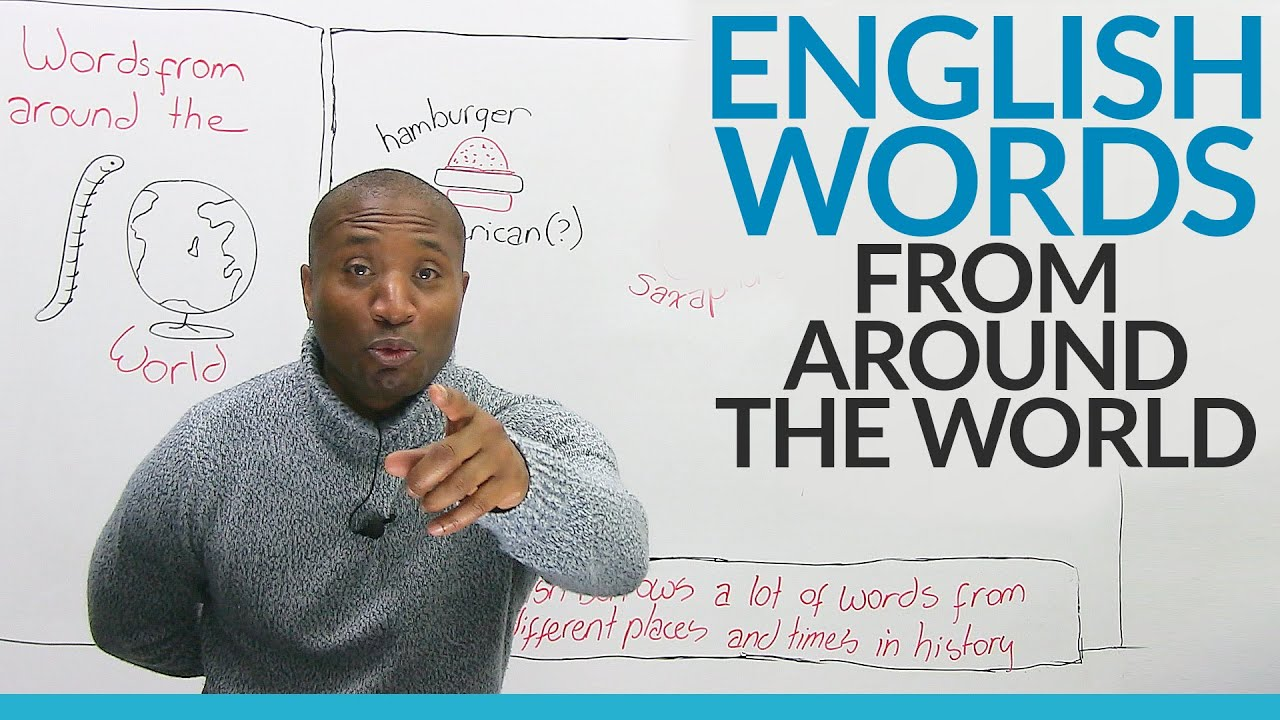 Learn Vocabulary English Words That Come From Other Languages Engvid