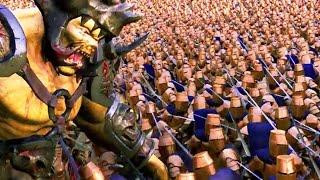 2,000,000 HEALTH OGRE vs 5000 GOLDEN KNIGHTS - Ultimate Epic Battle Simulator | Pungence