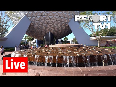 Epcot Live Stream - 5-18-18 - Flower and Garden Festival - Walt Disney World